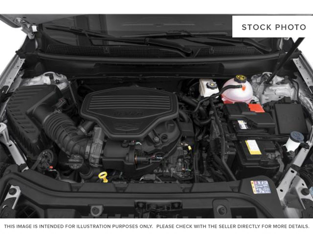 Red[Infrared Tintcoat] 2021 Cadillac XT5 Engine Compartment Photo in Edmonton AB