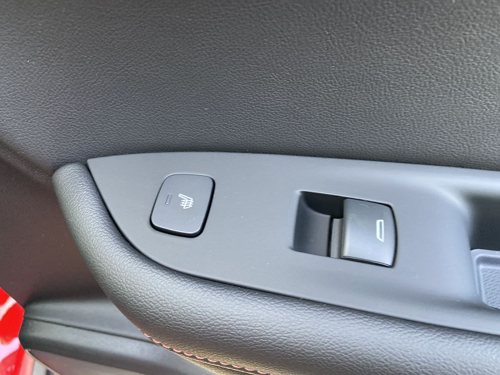 Red[Cherry Red Tintcoat] 2021 Chevrolet Blazer RS Passenger Rear Door Controls Photo in Calgary AB
