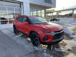 Red[Cherry Red Tintcoat] 2021 Chevrolet Blazer RS Right Front Corner Photo in Calgary AB