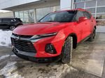 Red[Cherry Red Tintcoat] 2021 Chevrolet Blazer RS Left Front Head Light / Bumper and Grill in Calgary AB