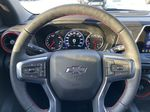 Red[Cherry Red Tintcoat] 2021 Chevrolet Blazer RS Steering Wheel and Dash Photo in Calgary AB