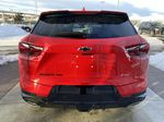 Red[Cherry Red Tintcoat] 2021 Chevrolet Blazer RS Rear of Vehicle Photo in Calgary AB