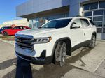 White[Summit White] 2021 GMC Acadia SLE Left Front Head Light / Bumper and Grill in Calgary AB