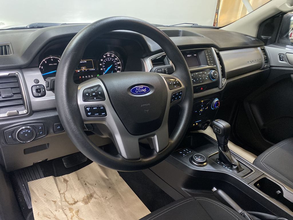 WHITE 2019 Ford Ranger XLT - Remote Start, Bluetooth, Backup Camera Steering Wheel and Dash Photo in Edmonton AB