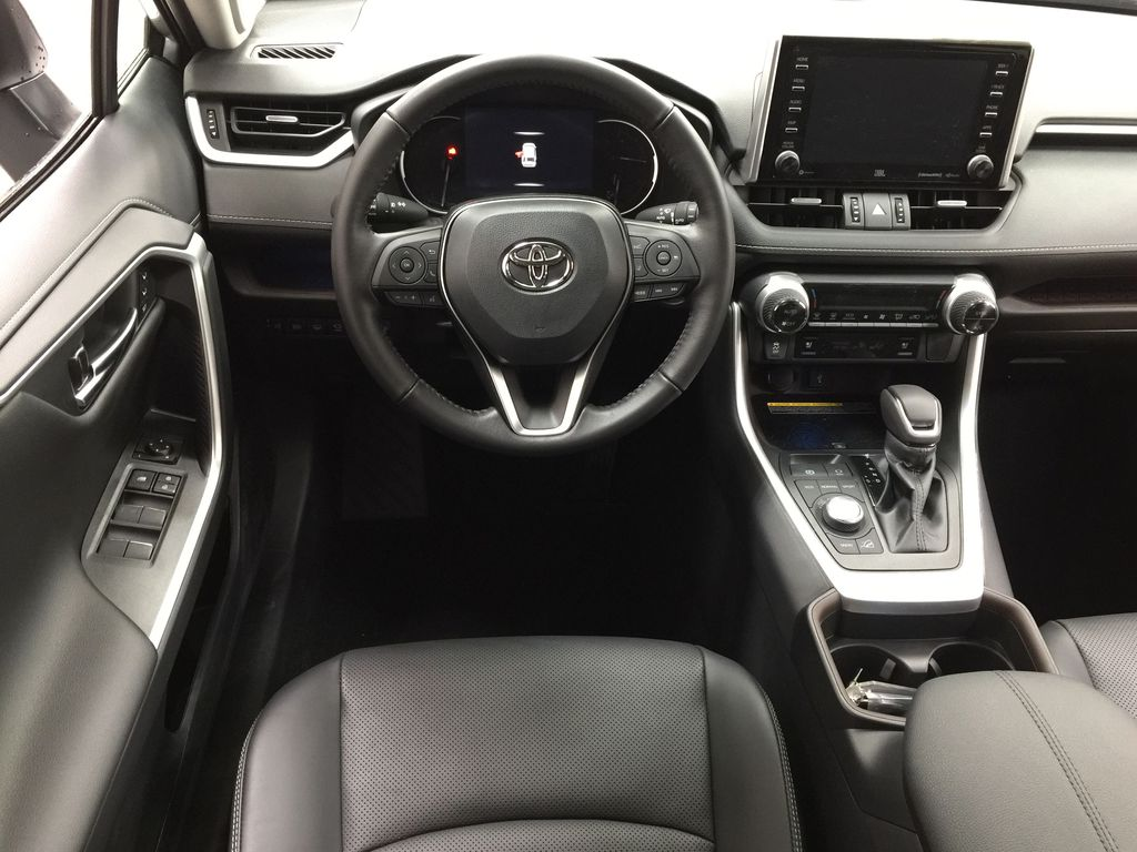 Silver[Silver Sky Metallic] 2021 Toyota RAV4 Limited Left Front Seat Photo in Sherwood Park AB