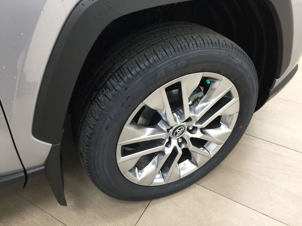 Silver[Silver Sky Metallic] 2021 Toyota RAV4 Limited Right Front Rim and Tire Photo in Sherwood Park AB