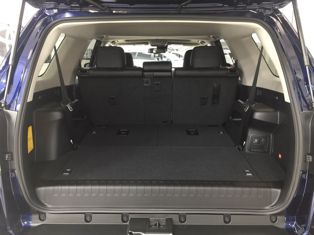 Blue[Nautical Blue Metallic] 2021 Toyota 4Runner Limited Cargo Area/Rear Seats Photo in Sherwood Park AB