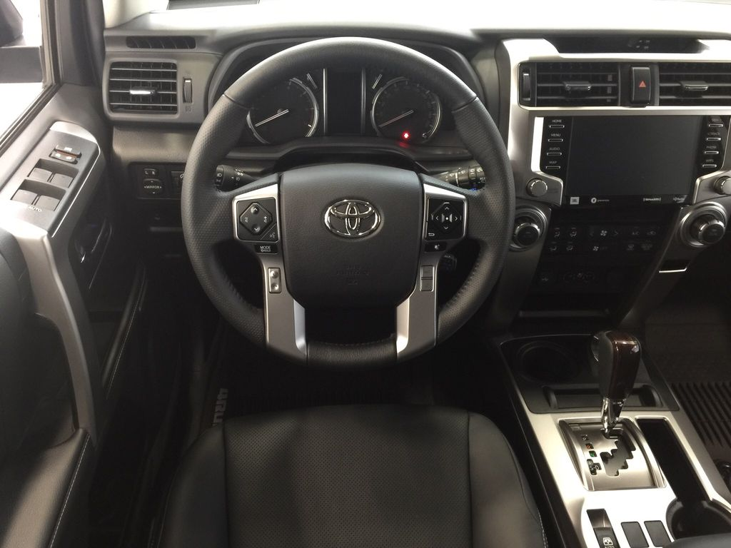 Blue[Nautical Blue Metallic] 2021 Toyota 4Runner Limited Left Front Seat Photo in Sherwood Park AB