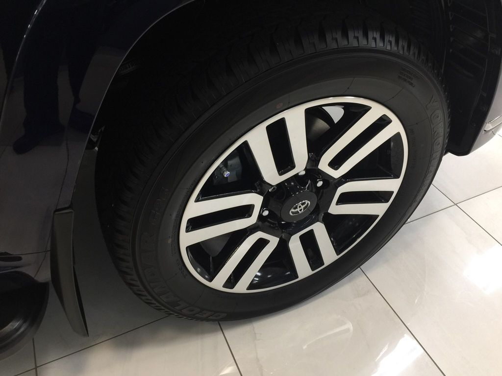 Blue[Nautical Blue Metallic] 2021 Toyota 4Runner Limited Right Front Rim and Tire Photo in Sherwood Park AB