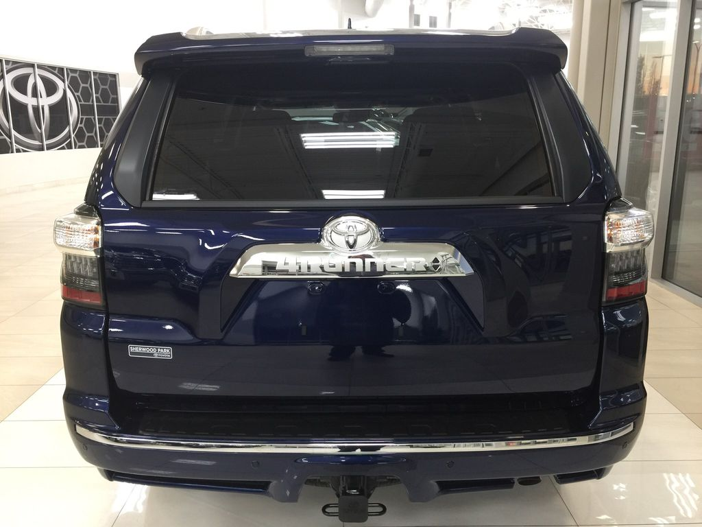 Blue[Nautical Blue Metallic] 2021 Toyota 4Runner Limited Rear of Vehicle Photo in Sherwood Park AB