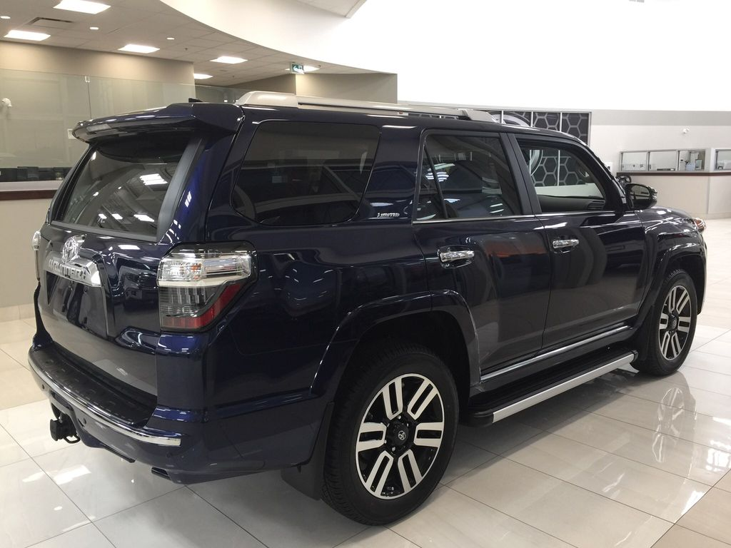 Blue[Nautical Blue Metallic] 2021 Toyota 4Runner Limited Right Side Photo in Sherwood Park AB
