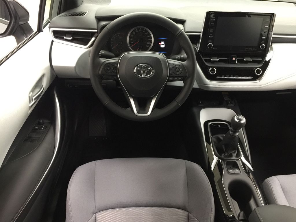 Gray[Cement Grey Metallic] 2021 Toyota Corolla Apex Edition Left Front Seat Photo in Sherwood Park AB