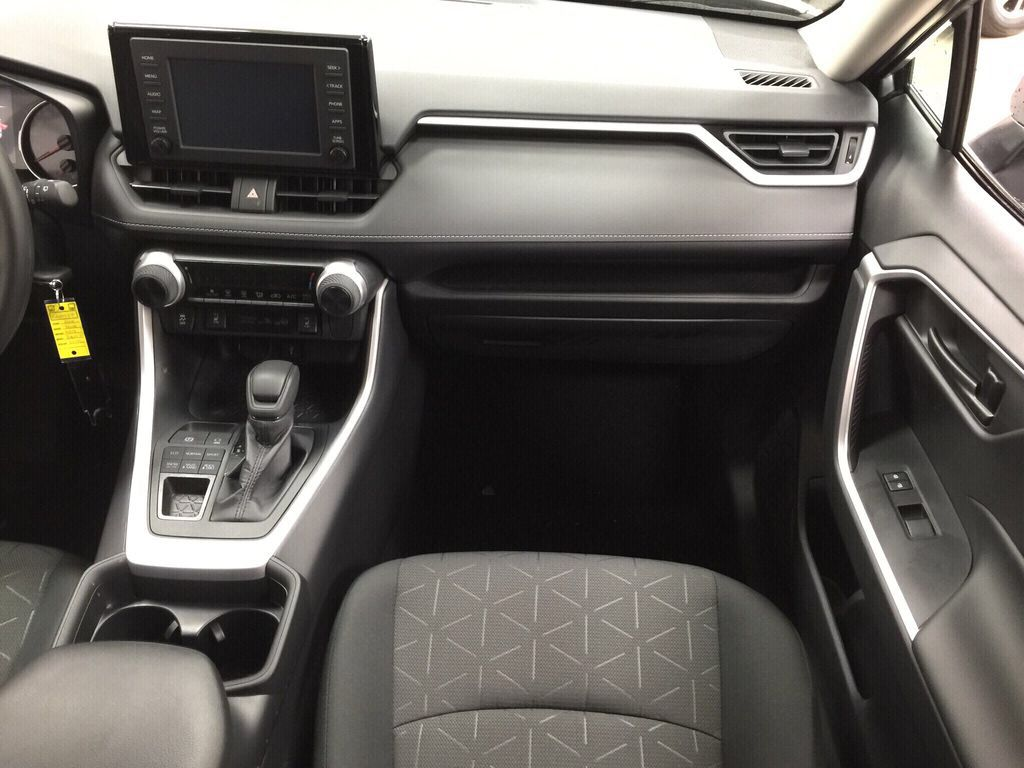 Silver[Silver Sky Metallic] 2021 Toyota RAV4 LE AWD Right Front Seat Photo in Sherwood Park AB