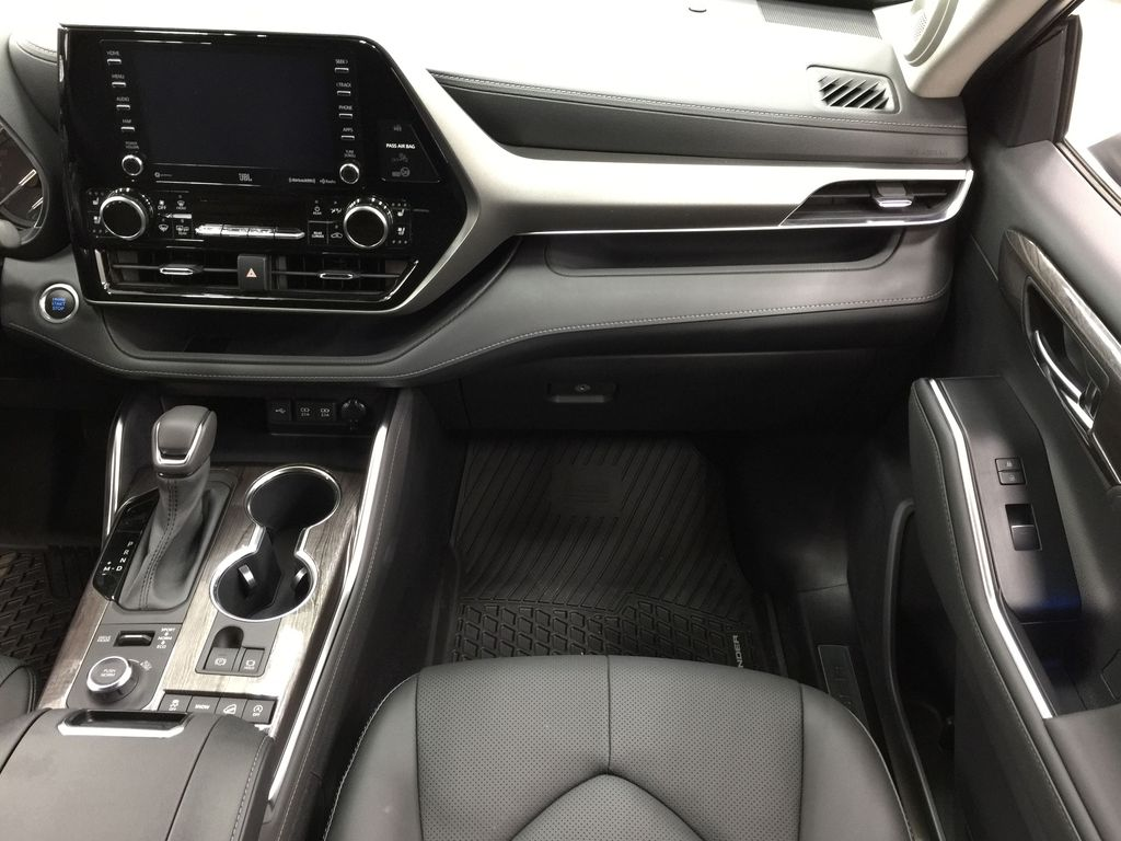 Blue[Blueprint] 2021 Toyota Highlander Limited Right Front Seat Photo in Sherwood Park AB