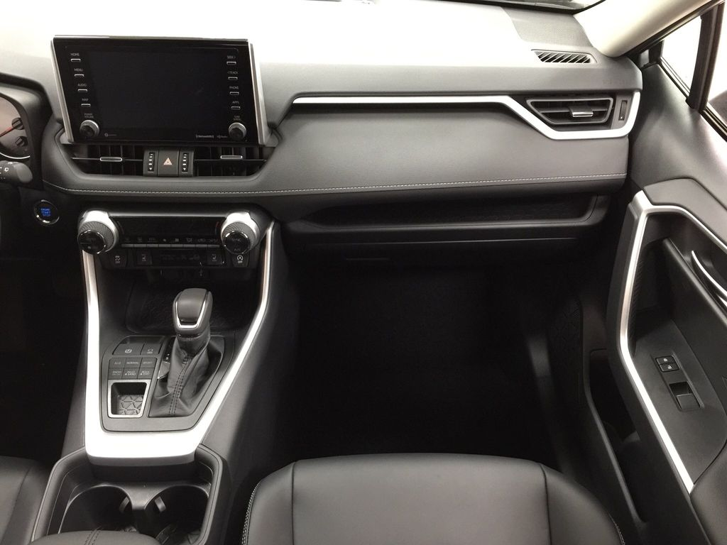 Silver[Silver Sky Metallic] 2021 Toyota RAV4 XLE Premium Right Front Seat Photo in Sherwood Park AB