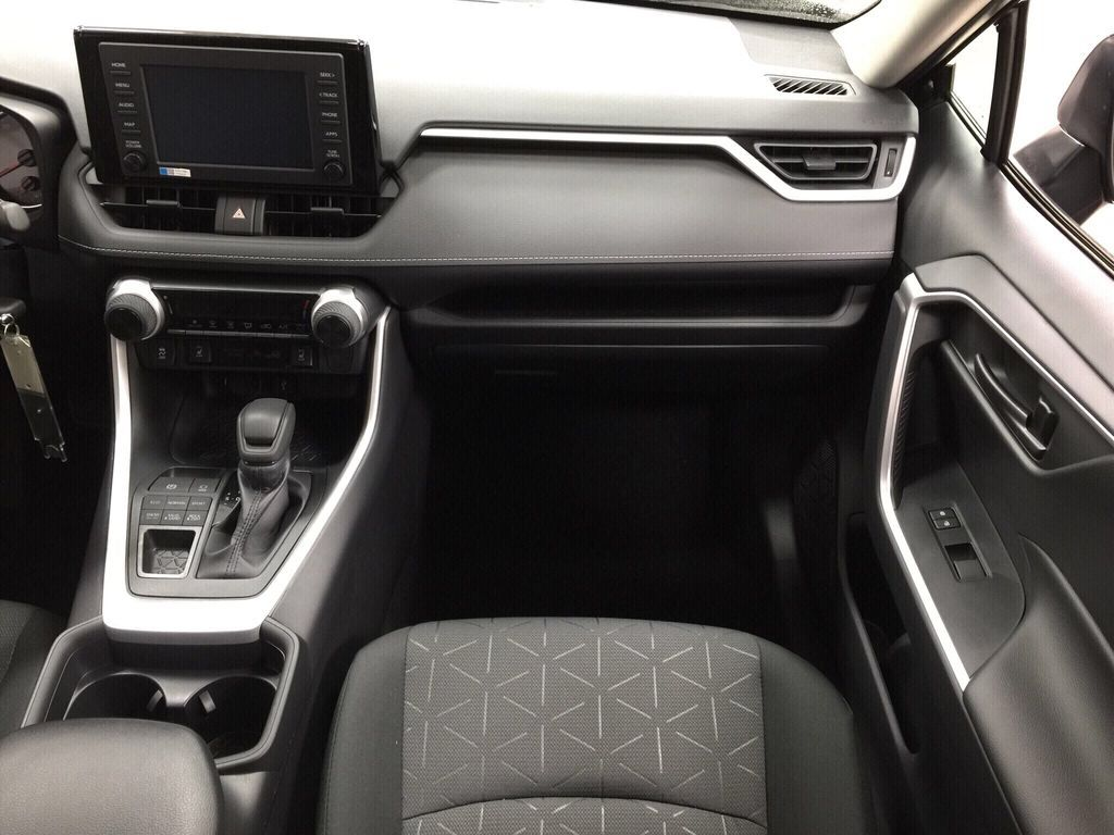 Black[Midnight Black Metallic] 2021 Toyota RAV4 LE AWD Right Front Seat Photo in Sherwood Park AB