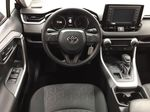 Black[Midnight Black Metallic] 2021 Toyota RAV4 LE AWD Left Front Seat Photo in Sherwood Park AB