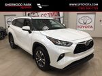 White[Blizzard Pearl] 2020 Toyota Highlander XLE AWD Primary Listing Photo in Sherwood Park AB