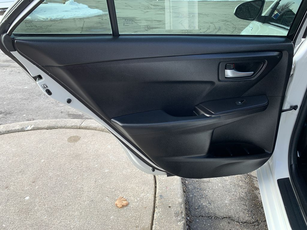 White 2017 Toyota Camry Hybrid STOCK NOT FOUND Left Side Rear Seat  Photo in Brampton ON