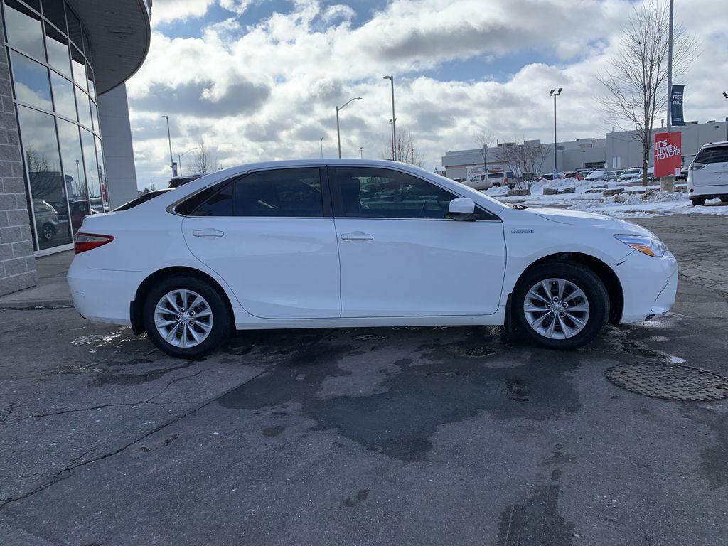 White 2017 Toyota Camry Hybrid STOCK NOT FOUND Front Vehicle Photo in Brampton ON