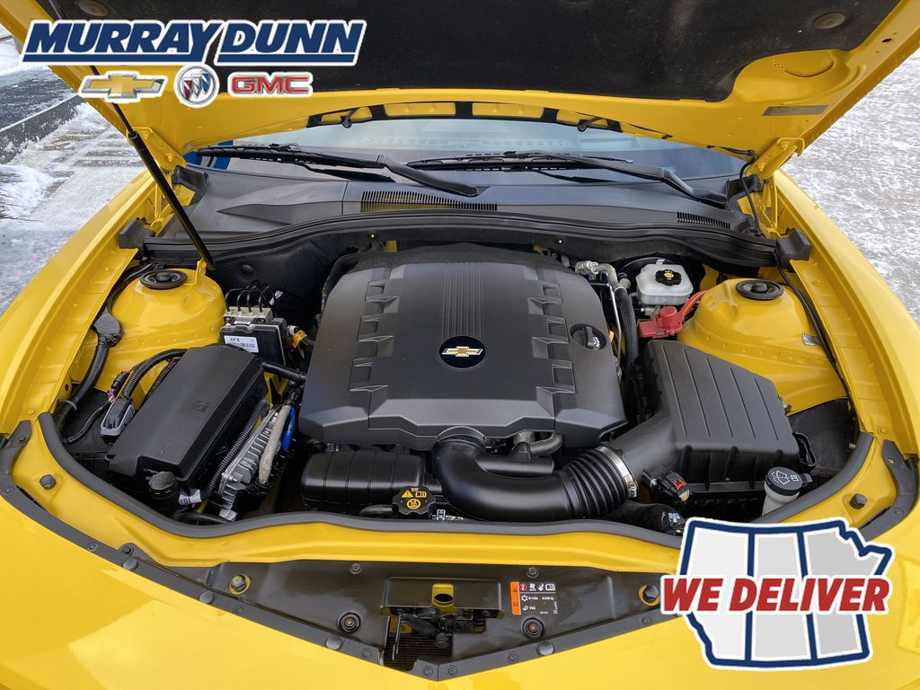 Yellow[Rally Yellow] 2012 Chevrolet Camaro LT Engine Compartment Photo in Nipawin SK