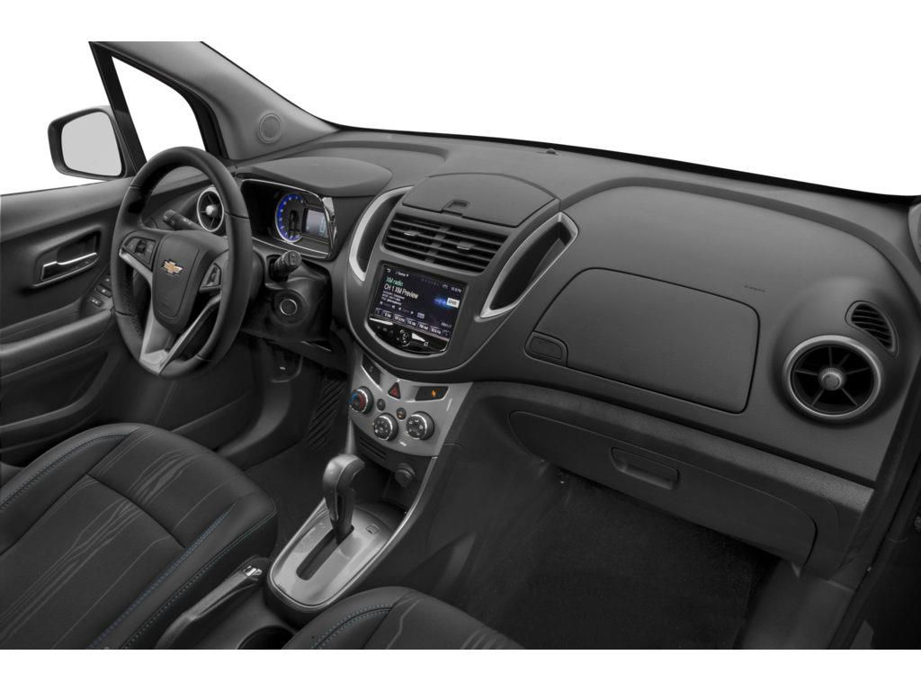 White 2016 Chevrolet Trax Front Vehicle Photo in Brooks AB