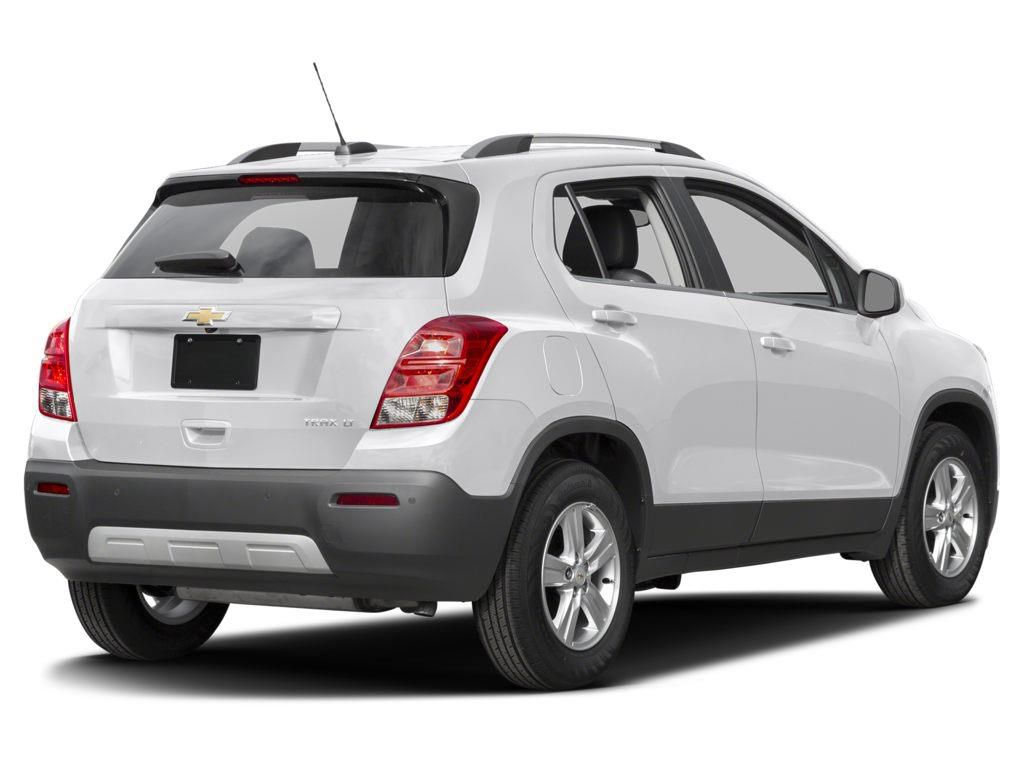 White 2016 Chevrolet Trax Left Front Rim and Tire Photo in Brooks AB