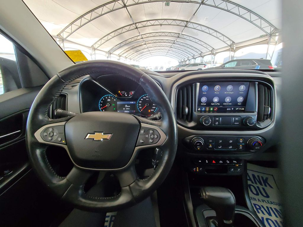 Grey 2019 Chevrolet Colorado Left Side Photo in Airdrie AB