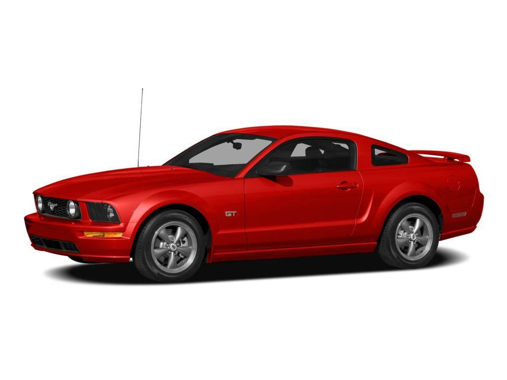Red 2008 Ford Mustang