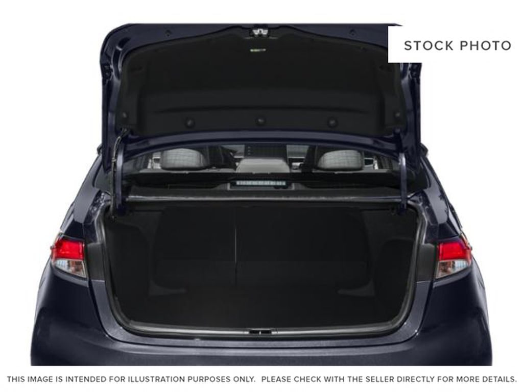 Red[Barcelona Red Metallic] 2021 Toyota Corolla Trunk / Cargo Area Photo in Beverly Hills NU