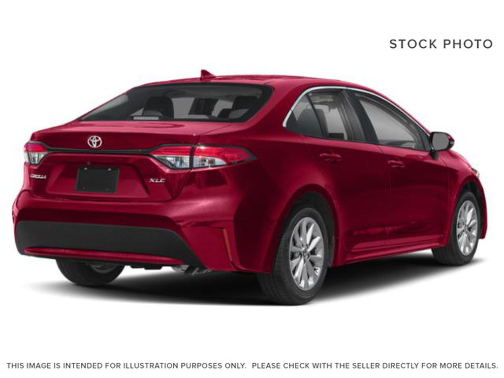 Red[Barcelona Red Metallic] 2021 Toyota Corolla Right Rear Corner Photo in Beverly Hills NU