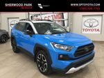 Blue[Blue Flame w/Ice Edge Roof] 2020 Toyota RAV4 Trail AWD Primary Listing Photo in Sherwood Park AB