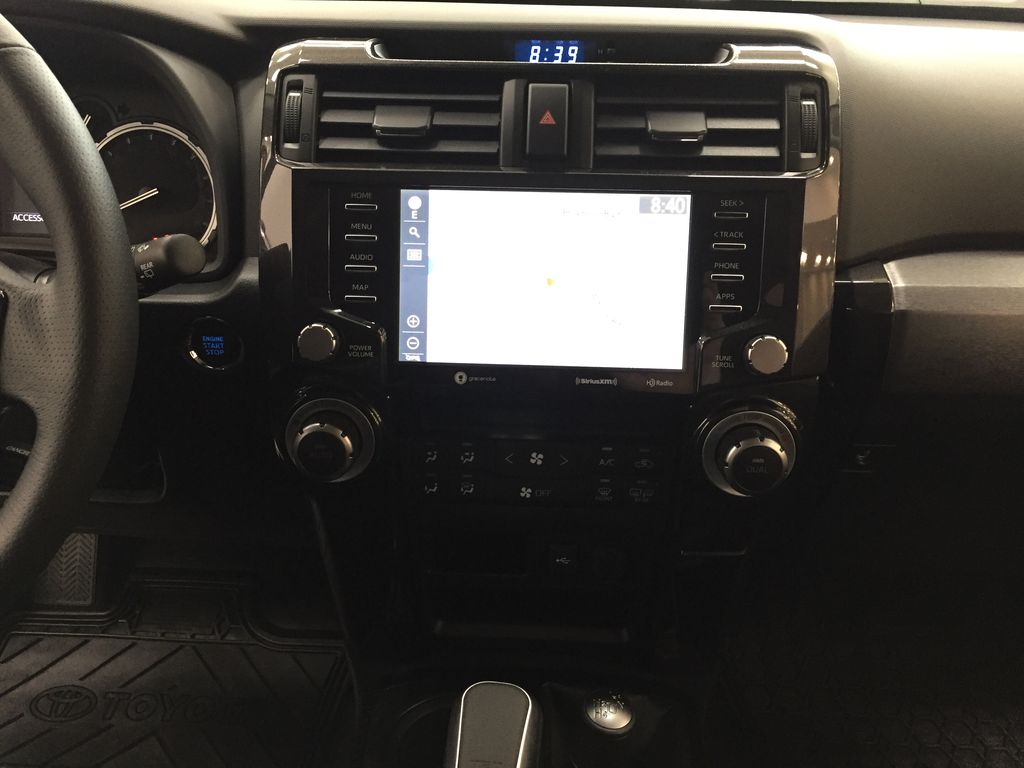Red[Barcelona Red Metallic] 2021 Toyota 4Runner TRD Off-Road Central Dash Options Photo in Sherwood Park AB