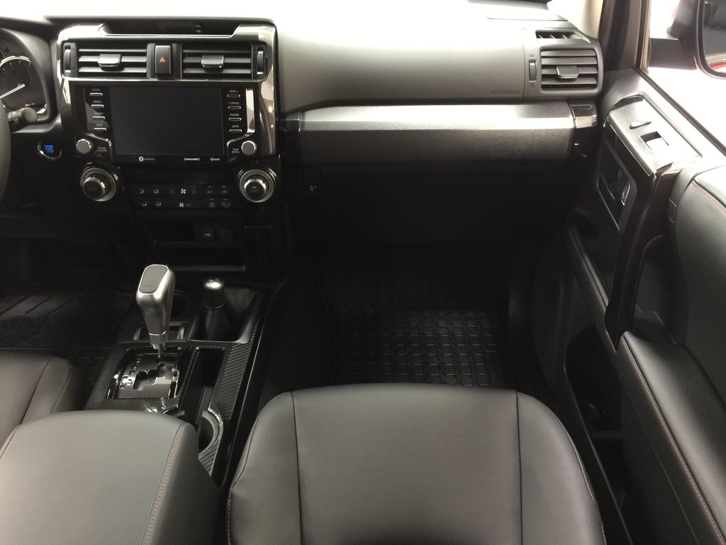 Red[Barcelona Red Metallic] 2021 Toyota 4Runner TRD Off-Road Right Front Seat Photo in Sherwood Park AB
