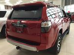 Red[Barcelona Red Metallic] 2021 Toyota 4Runner TRD Off-Road Right Rear Corner Photo in Sherwood Park AB