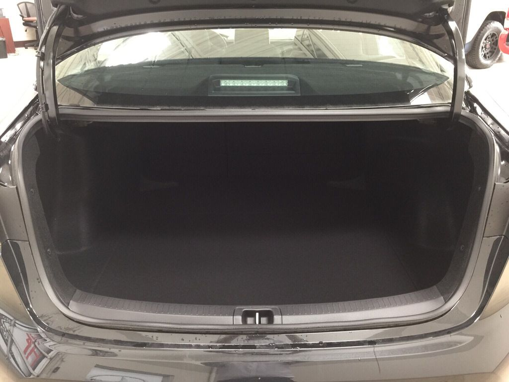 Black[Black Sand Pearl] 2021 Toyota Corolla SE Cargo Area/Rear Seats Photo in Sherwood Park AB