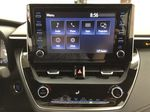 Black[Black Sand Pearl] 2021 Toyota Corolla SE Infotainment Closeup Photo in Sherwood Park AB