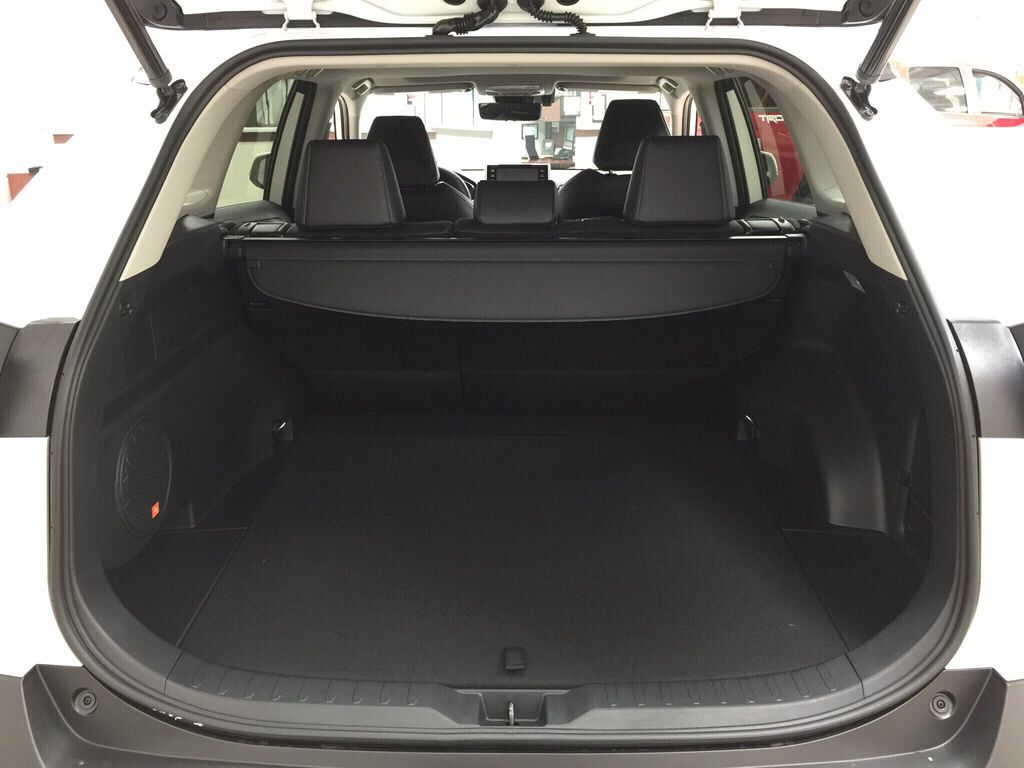 White[Blizzard Pearl] 2021 Toyota RAV4 Limited Cargo Area/Rear Seats Photo in Sherwood Park AB