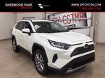 White[Blizzard Pearl] 2021 Toyota RAV4 Limited Primary Listing Photo in Sherwood Park AB