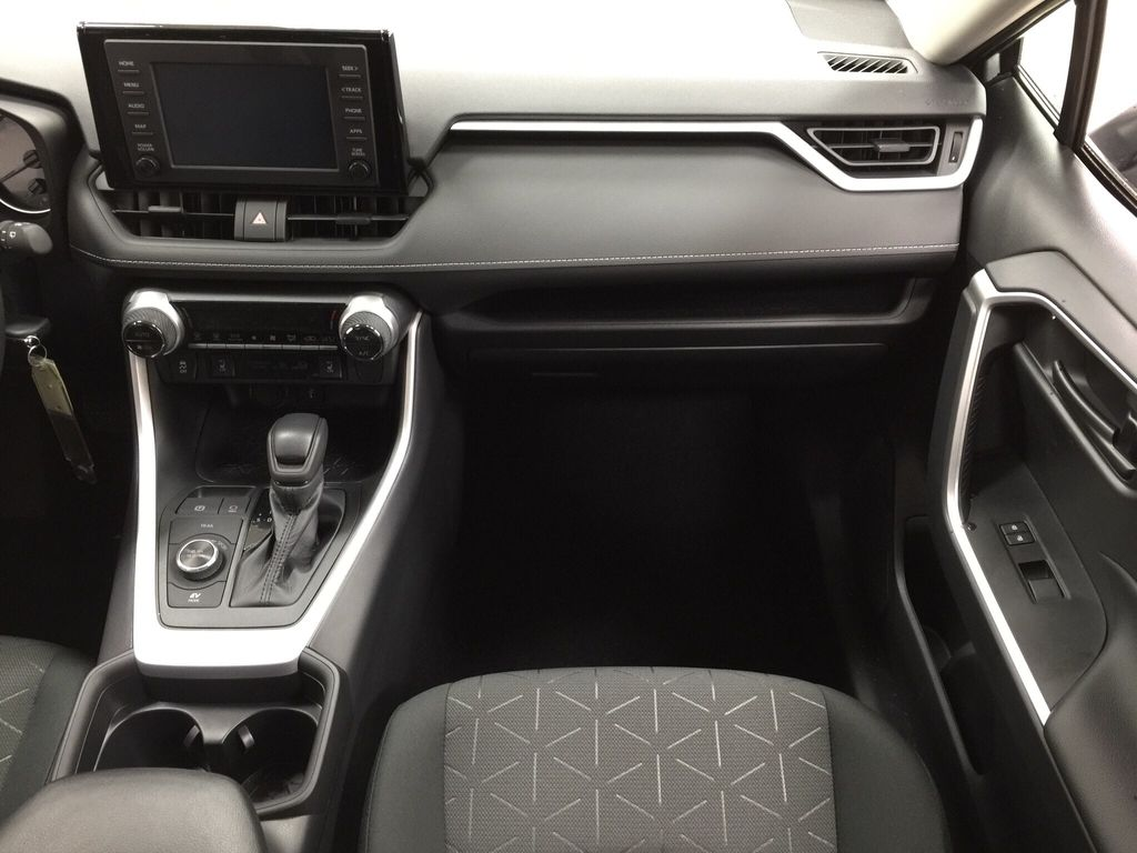 Silver[Silver Sky Metallic] 2021 Toyota RAV4 LE Hybrid Right Front Seat Photo in Sherwood Park AB