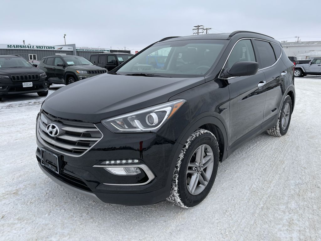 Black 2018 Hyundai Santa Fe Sport 2.4L AWD SPORT *Heated Seats*Backup Cam*Bluetooth*