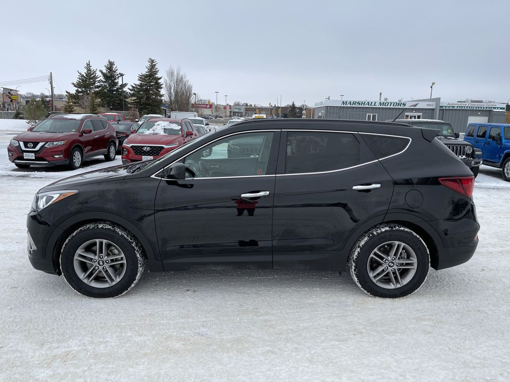 Black 2018 Hyundai Santa Fe Sport 2.4L AWD SPORT *Heated Seats*Backup Cam*Bluetooth* Left Side Photo in Brandon MB