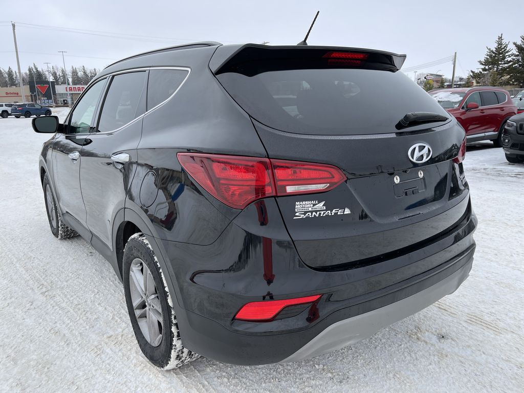 Black 2018 Hyundai Santa Fe Sport 2.4L AWD SPORT *Heated Seats*Backup Cam*Bluetooth* Left Rear Corner Photo in Brandon MB