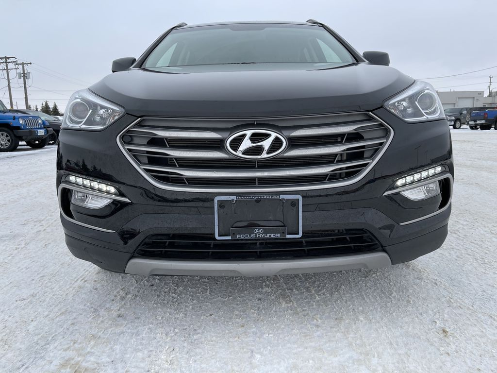 Black 2018 Hyundai Santa Fe Sport 2.4L AWD SPORT *Heated Seats*Backup Cam*Bluetooth* Left Front Head Light / Bumper and Grill in Brandon MB