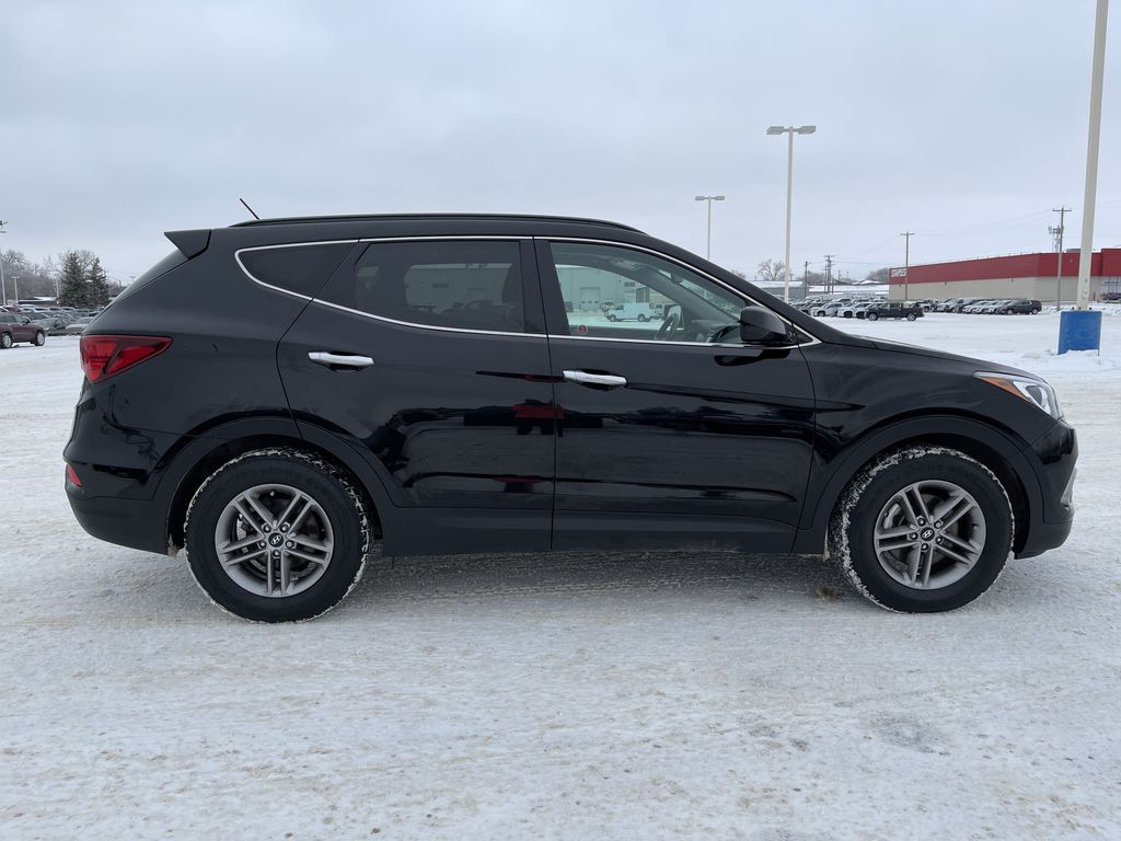 Black 2018 Hyundai Santa Fe Sport 2.4L AWD SPORT *Heated Seats*Backup Cam*Bluetooth* Right Side Photo in Brandon MB