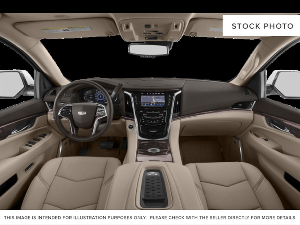 White[Crystal White Tricoat] 2020 Cadillac Escalade ESV Central Dash Options Photo in Edmonton AB