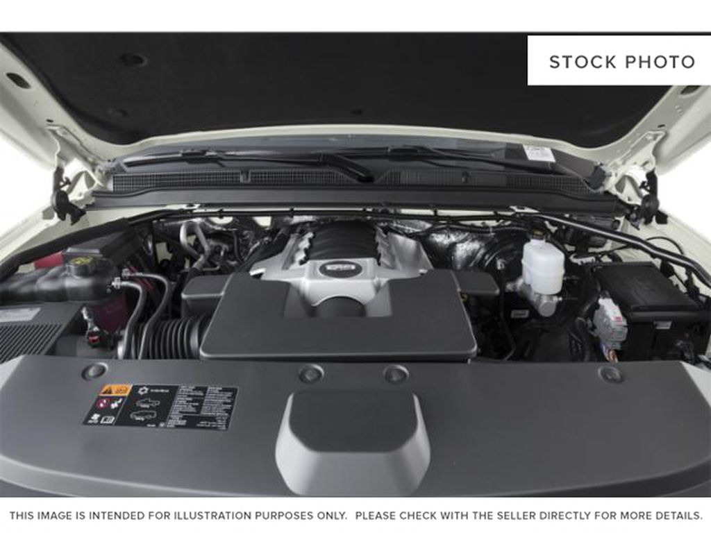 White[Crystal White Tricoat] 2020 Cadillac Escalade ESV Engine Compartment Photo in Edmonton AB