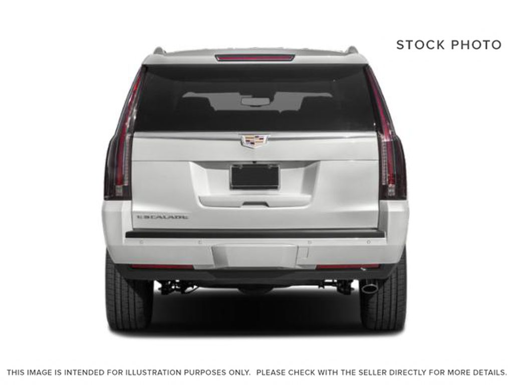 White[Crystal White Tricoat] 2020 Cadillac Escalade ESV Rear of Vehicle Photo in Edmonton AB