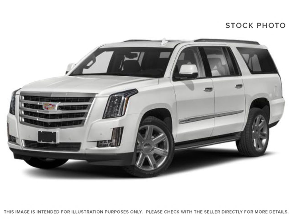 White[Crystal White Tricoat] 2020 Cadillac Escalade ESV