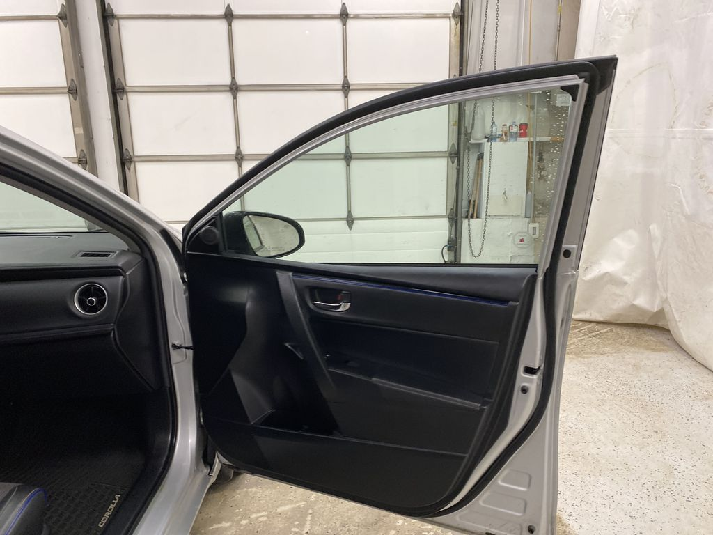 Silver[Classic Silver Metallic] 2018 Toyota Corolla Right Front Interior Door Panel Photo in Dartmouth NS